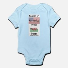 Made in America-Welsh Onesie