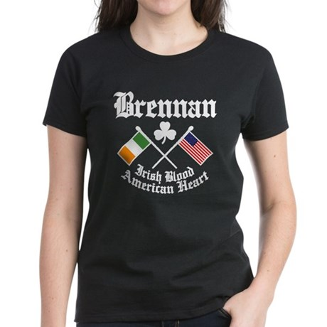 Brennan - Women's Dark T-Shirt