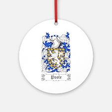 Poole Ornament (Round)