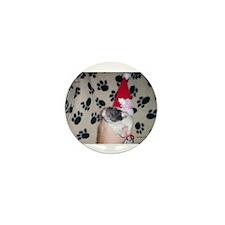 Holiday Ratty Mini Button