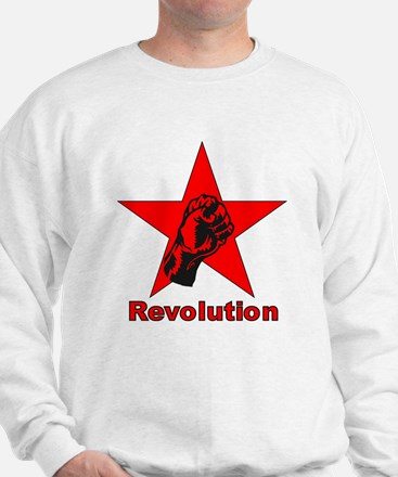 Commie Revolution Star Fist Sweater