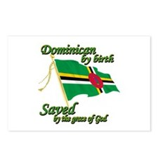 Dominican by birth Postcards (Package of 8)