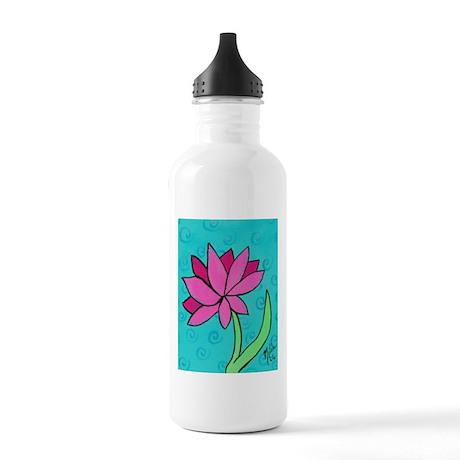 Lotus Stainless Water Bottle 1.0L