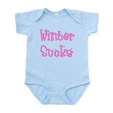 Funny Winter sucks Infant Bodysuit