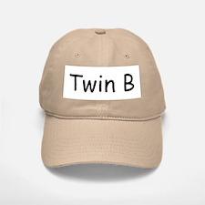 Twin B Baseball Baseball Cap