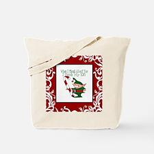 Naughty Elf Tote Bag