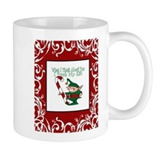 Naughty Elf Mug