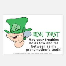 Irish Toast - Grandma's Teeth Postcards (Pkg 8)