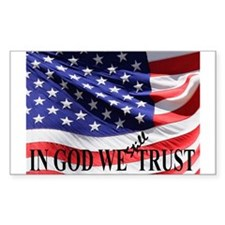 IN GOD WE Still TRUST Decal