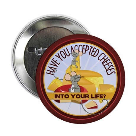 "Accept Cheeses 2.25"" Button (10 pack)"