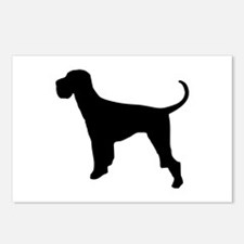 Dog Giant Schnauzer Postcards (Package of 8)