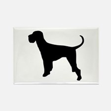Dog Giant Schnauzer Rectangle Magnet (10 pack)