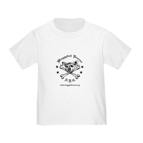 Punky Waggytail Rescue Logo Toddler T-Shirt