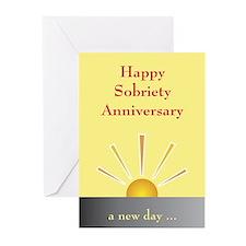 Sobriety Anniversary Card (Pk of 10)