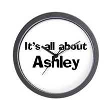 It's all about Ashley Wall Clock