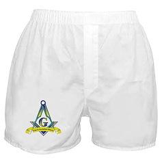 Free and accepted Mason Boxer Shorts