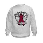 Multiple Myeloma Warrior Kids Sweatshirt