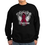 Multiple Myeloma Warrior Sweatshirt (dark)