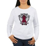 Multiple Myeloma Warrior Women's Long Sleeve T-Shi