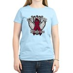 Multiple Myeloma Warrior Women's Light T-Shirt