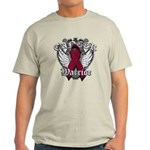 Multiple Myeloma Warrior Light T-Shirt