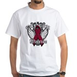 Multiple Myeloma Warrior White T-Shirt