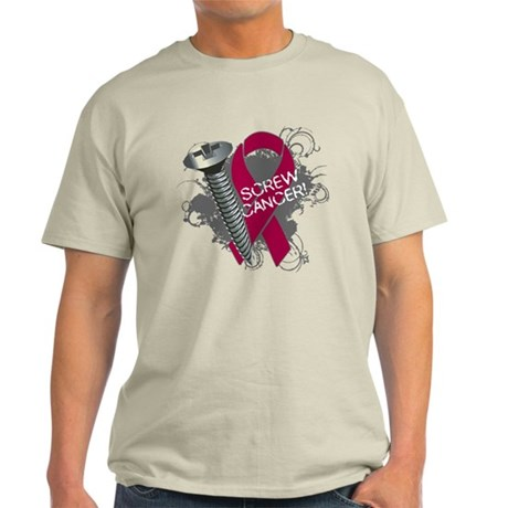 Screw Cancer - Myeloma Light T-Shirt