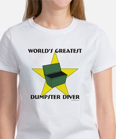 Greatest Dumpster Diver Tee