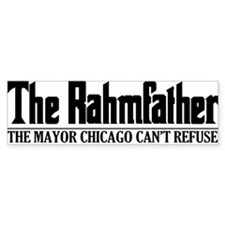 rahm-horizontal Bumper Car Sticker