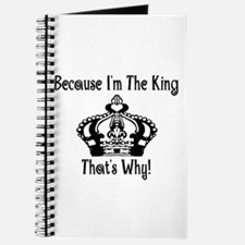 Because I'm The King Journal