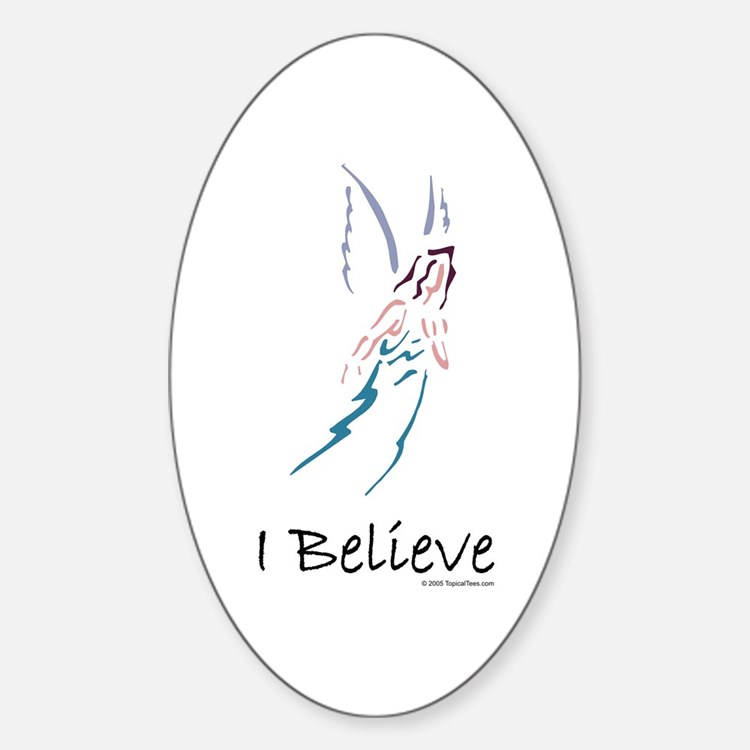 Angels/I believe Decal