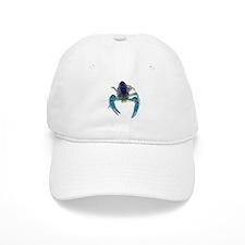 Blue Crayfish Baseball Cap