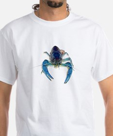 Blue Crayfish Shirt