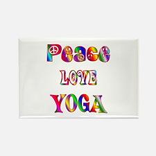 Yoga Rectangle Magnet (100 pack)