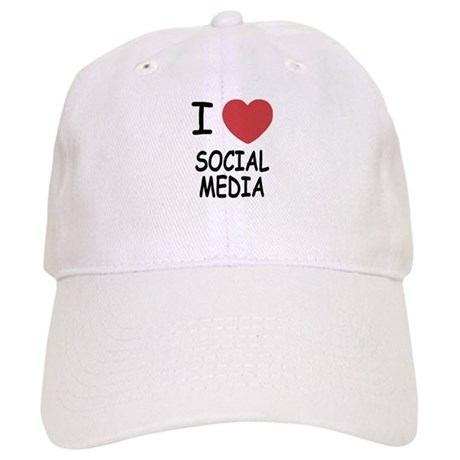 I heart social media Cap