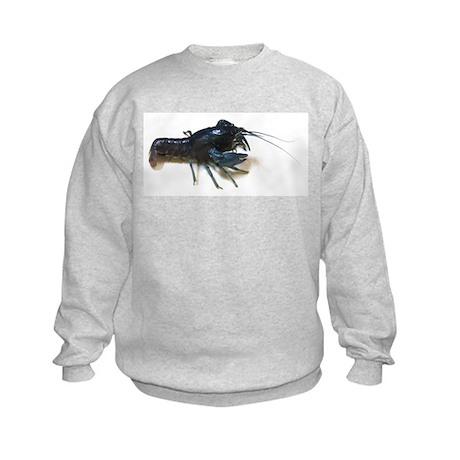 Blue Crayfish Kids Sweatshirt