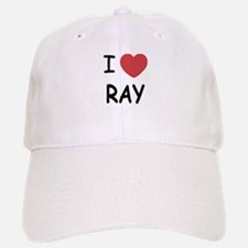 I heart ray Baseball Baseball Cap