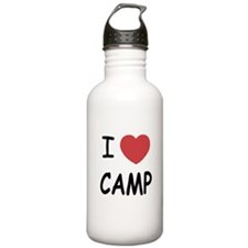 I heart camp Water Bottle