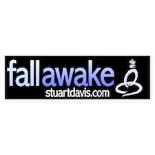 Fall Awake wide sticker
