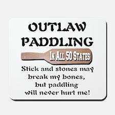 Outlaw Paddling Mousepad