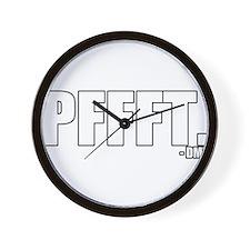 pffft. Wall Clock