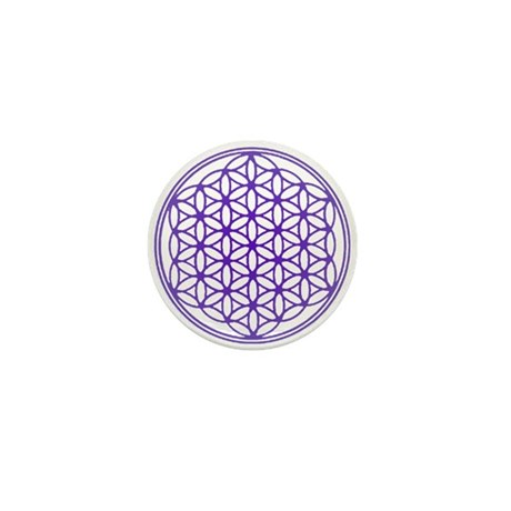 Flower of Life Mini Button (10 pack)
