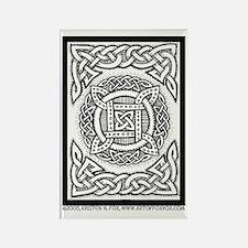Celtic Four Square Circle Rectangle Magnet