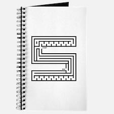 Letter S Maze Journal