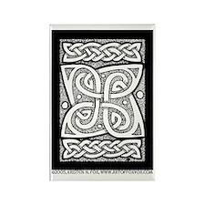 Celtic Cloverleaf Rectangle Magnet