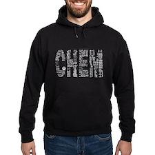 CHEM tshirt on Black Hoodie