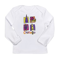 Chicago Kids Long Sleeve Infant T-Shirt