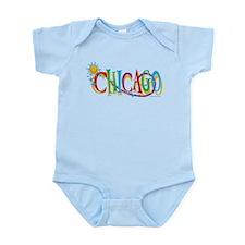 KIDS Chicago Sun Infant Bodysuit