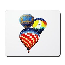 3 Hot Air Balloons Mousepad