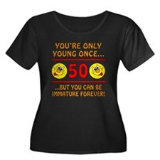 Immature 50th Birthday T